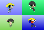 Bubbles, Buttercup, Boomer, And Butch Beta Models by Discourt