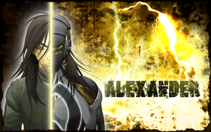 Alexander Wallpaper Gift by Blindice