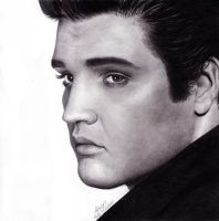 Elvis Presley by topazholly90