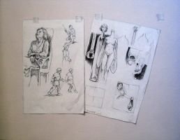 Sketches by Bernardumaine