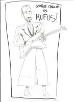 Rufus 10 Minute Sketch by MonkeySquadOne
