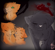Cinderpelt's Hurt by J-Wolvie