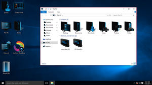 Blue IconPack for Win10 by hamed1987s
