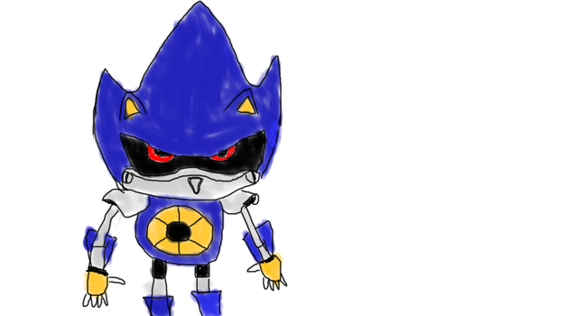 Metal Sonic by HSS14