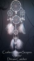 Snow Themed - Dream Catcher by Creafted-DreamScapes