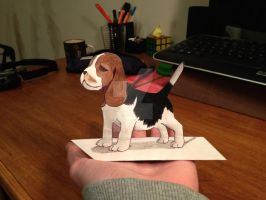 Beagle puppy 3D :) by ManciniLand