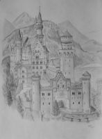 Neuschwanstein by Altayr