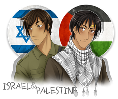 .:APH:. Israel and Palestine by kamillyanna