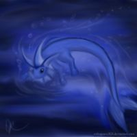 Spirit of Vaporeon by erikagrace303