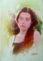 Oil Sketch Of a Hungarian Poet 2 by Sidimention