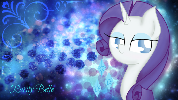 Rarity Belle by SnowflakeWonder