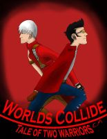 Worlds Collide Tale of two warriors by GamerERaid