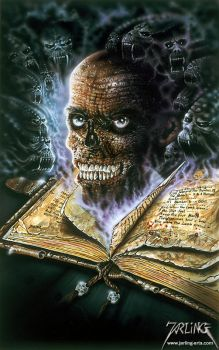 Book of Death by jarling-art