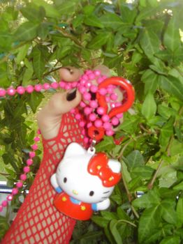 My Hello Kitty necklace by Neko-cosplayer