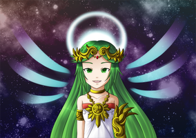 Palutena Bust by Icy-Snowflakes