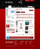 Media Junkies Page Template by a2designs