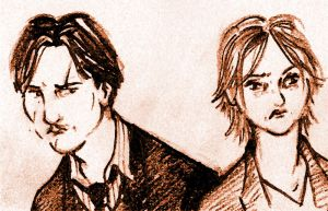 Lupin and Tonks - HBP by Lovelyruthie