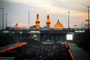 Imam Hussain A.S Shrine by alkumaish