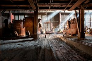 Industrial revolution by CyrnicUrbex