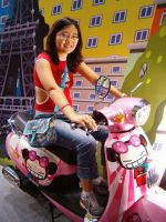 Me with Miss Pucca by Skorpix