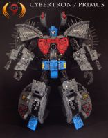 Cybertron Primus 2 by Unicron9