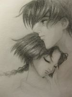 Aoshi and Misao by irisclaymore