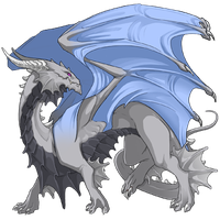 My first Flightrising dragon by InvaderTraditore