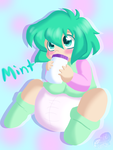 GA: Baby Mint by AD-SD-ChibiGirl