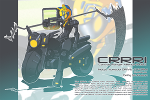 CR MISSION 04:Noizu as Celty by Cessa