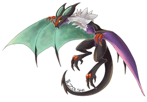 Ra the Noivern by Zolshii