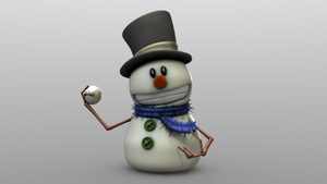 Snowman by RandomRails