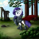 Rarity knight by rule1of1coldfire