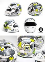 Custom Helmet by Bobsmade