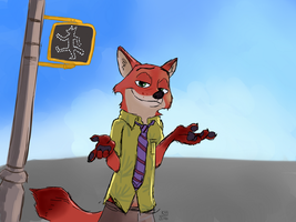Nick Wilde by kosko99