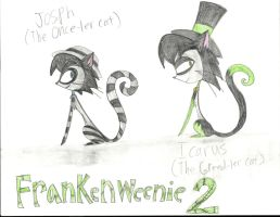 Frankenweenie Once-ler-Kitties by TheNightmareGoddess