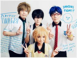 Free! - Iwatobi Swim Club Yearbook Photo by behindinfinity