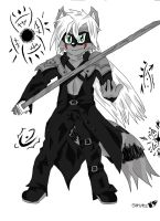 Sephiroth - Kiba by Stripes-the-Raccoon