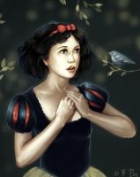 Snow white by Vesea