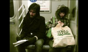 subway strangers by foolishworkerbee