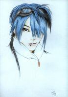 miyavi in blue by Coniak