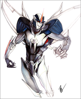 TFP Starscream by SingularDisease