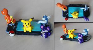 Pokemon GBA by DewberryART
