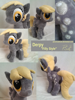 Filly Derpy Collage #1 by PisumSativum
