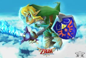 Angry Link Skyward Sword by MykeSon