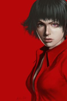 DMC3 Lady In Red by mr-mister