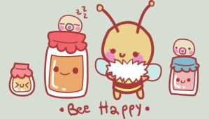 bee happy by LouBerry