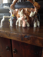 Needle felting work in progresses by the-pink-dragon
