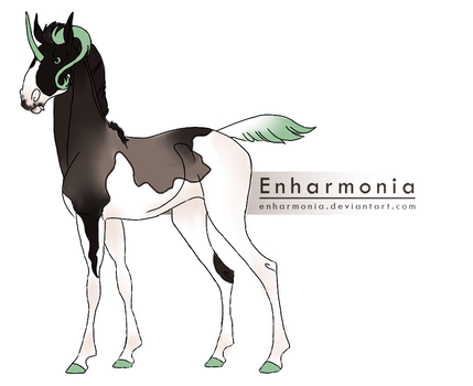 ID: 3422 EB Foal Design by equine2210