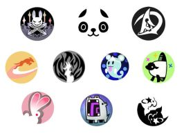 World Ends With You Pins 1 by alknick