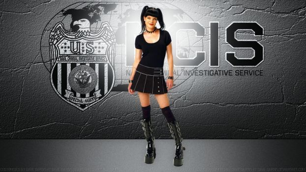 Pauley Perrette Abby of NCIS by Dave-Daring